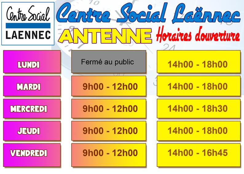 Contact centre social la nnec - Centre social laennec ...