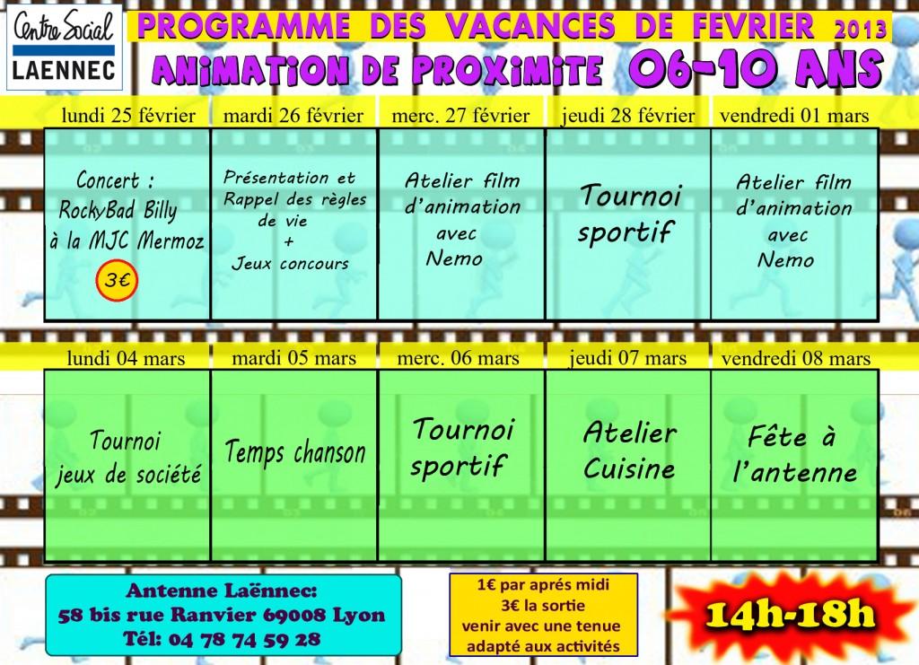 programme 6-10 fev 2013 prox copie copie copie