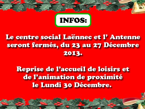 Info centre social la nnec - Centre social laennec ...