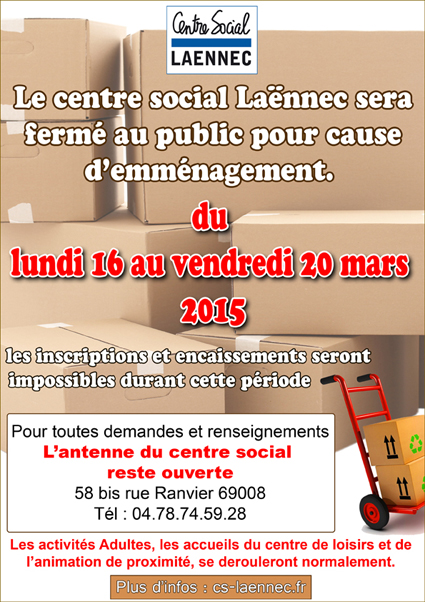 Infos centre social la nnec - Centre social laennec ...
