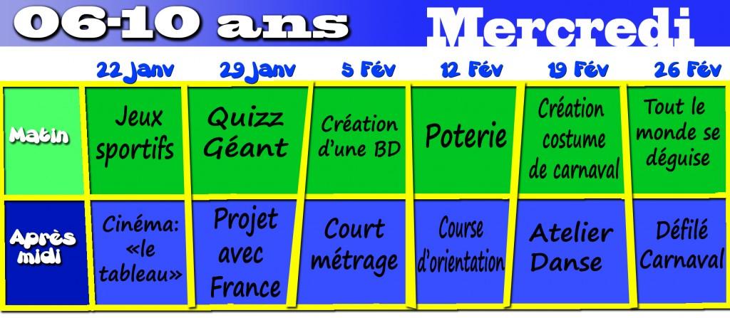 programme des mercredis 6-10 - janvier 2014 copie