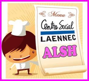 Menus repas alsh centre social la nnec - Centre social laennec ...