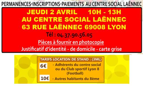 Vide grenier 2015 rappel inscriptions centre social la nnec - Centre social laennec ...