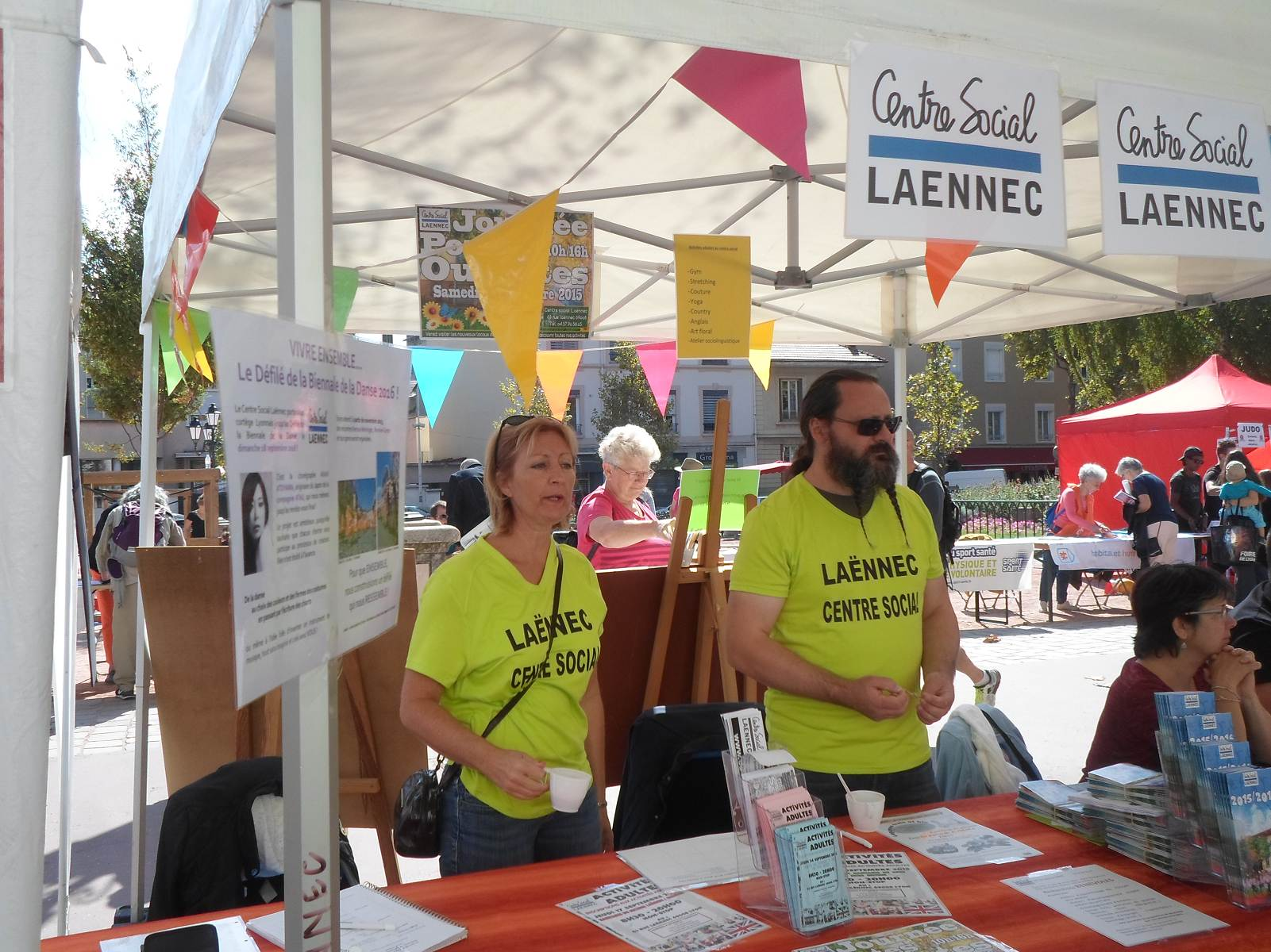 Forum des associations centre social la nnec - Centre social laennec ...