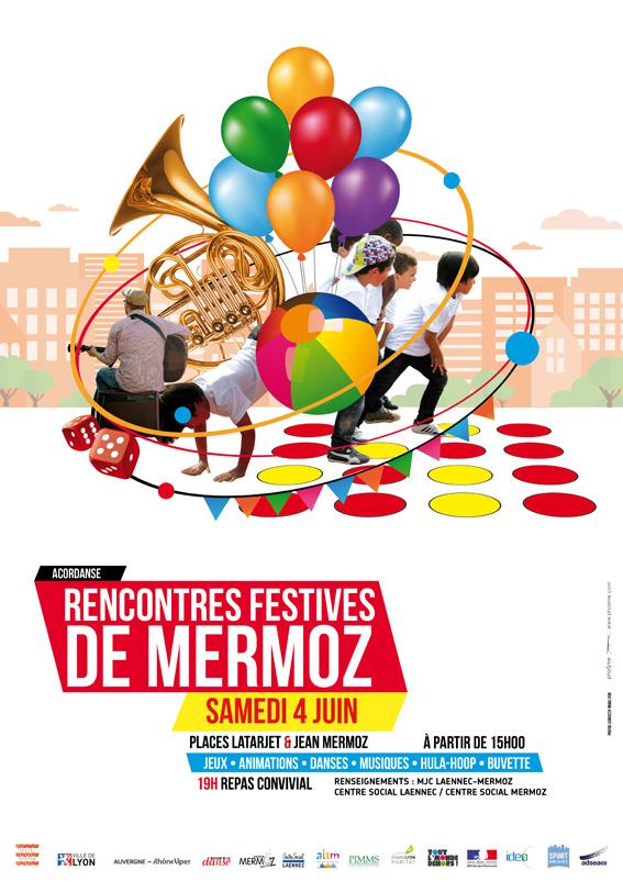 Rencontres festives de Mermoz - Affiche (1)