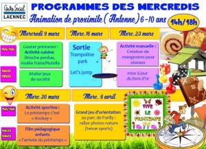 programmes prox mercredis copie
