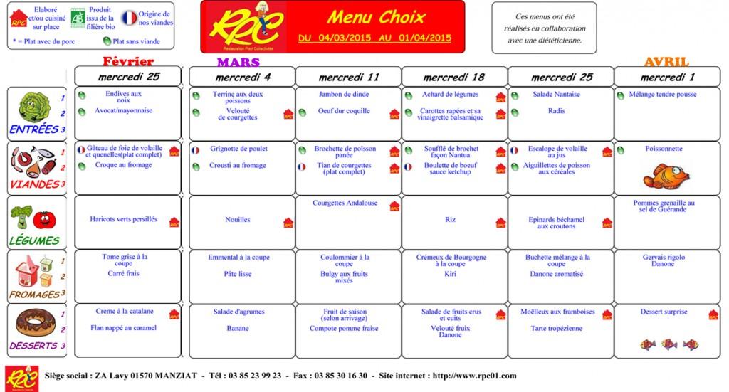 menu MARS copie
