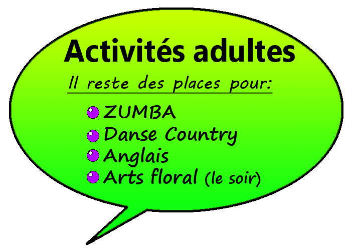 info activité adult copie