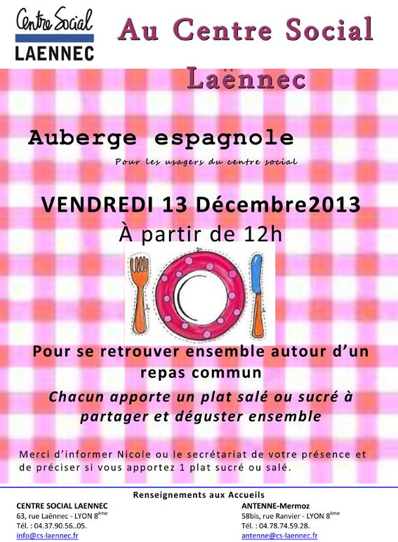 Auberge espagnole Nov 2013 Nappe-1