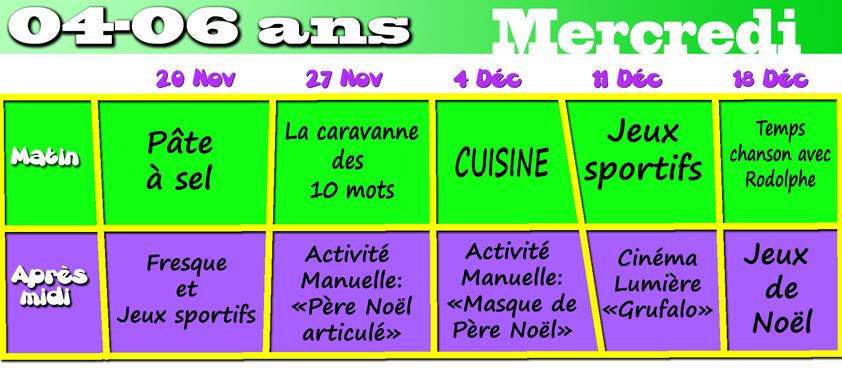 Activités Manuelles Centre De Loisirs 6 10 Ans nouveau! programmes des mercredis (alsh) – centre social laënnec