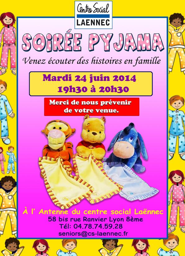 affiche soirée pyjama 22 avril copie - Copie