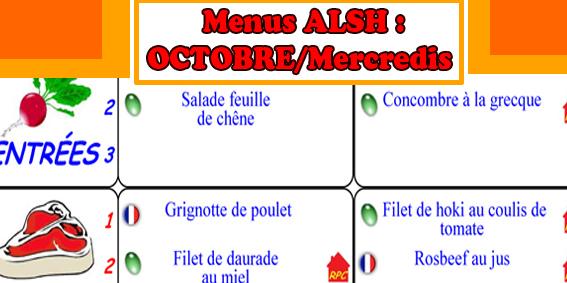 menu annonces oct 14