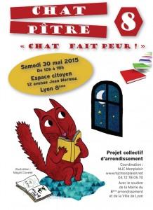 Affiche A3 Chat Pitre 8.indd
