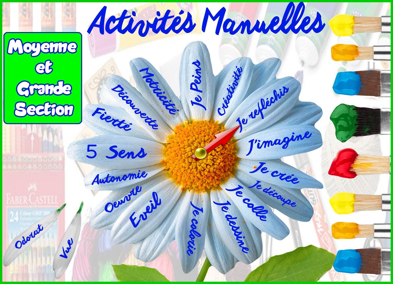 activite manuelle 5 sens