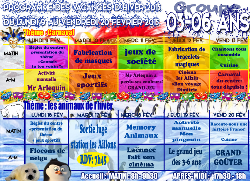 Activités Manuelles Centre De Loisirs 6 10 Ans animation 3-6 ans