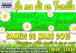 affiche samedi 28 mars 15 SITE 2