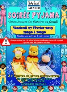 affiche soirée pyjama fevrier 2015 copie