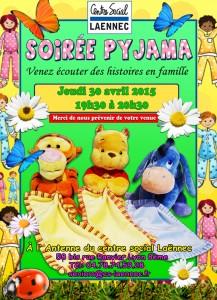 affiche soirée pyjama AVRIL 2015 SITE