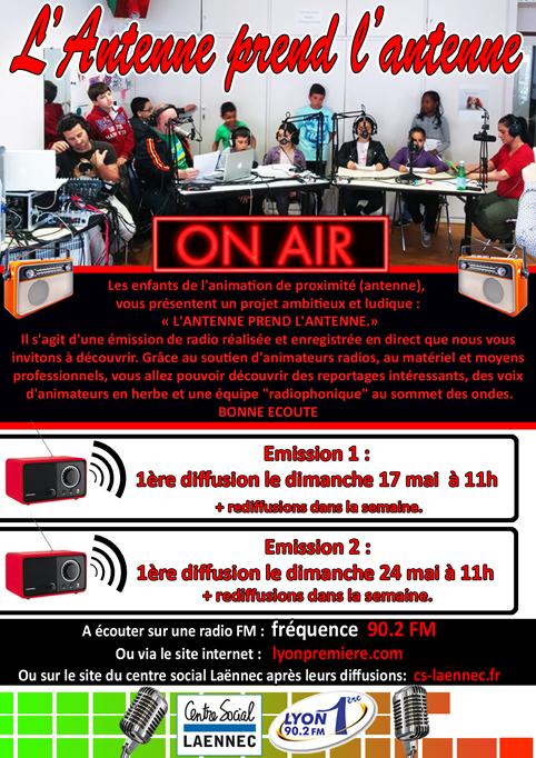 affiche radio MAiling