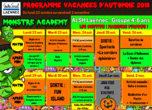 Activités Manuelles Centre De Loisirs 6 10 Ans programmes – centre social laënnec