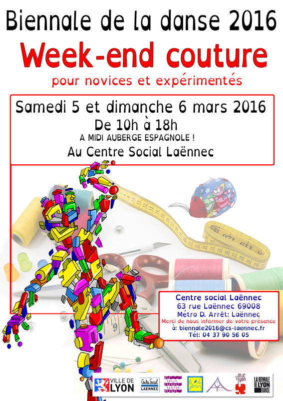 affiche biennale couture - DEF3 - SITE