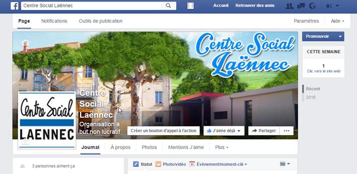 capt ecran-Centre Social Laënnec