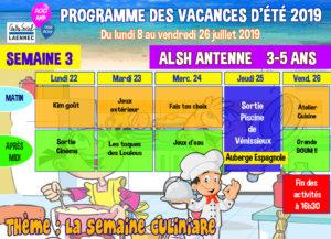 Programmes Centre Social Laennec